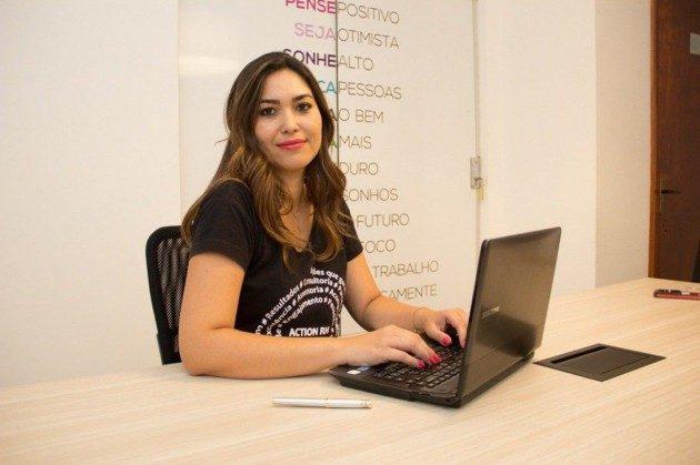 Ellen Leandra, especialista em gestão de pessoas