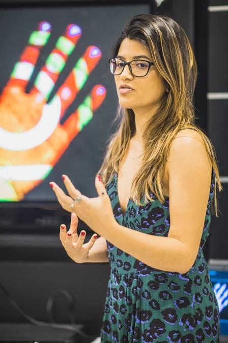 A produtora de conteúdo digital Polyana Ker, de 37 anos