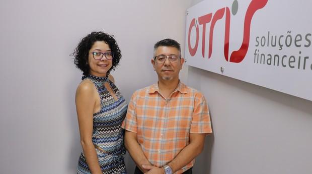 Charlene Moraes e Caio Katayama, fundadores da Ótris (Foto: Divulgação)