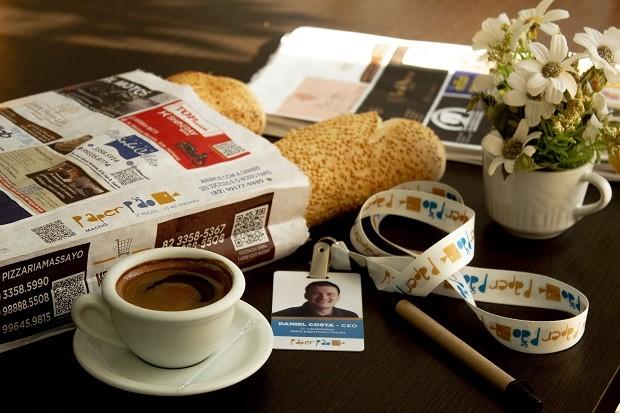 Franquia Paper Pão: rede é especializada na venda de anúncios em saco de pão (Foto: Divulgação)