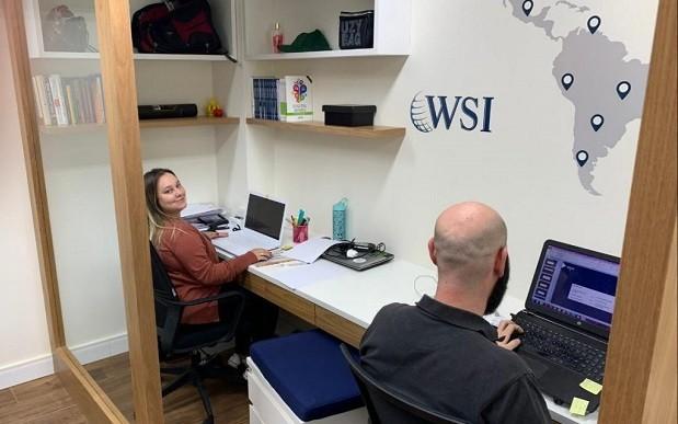 Escritório da WSI no Brasil: rede internacional é focada em marketing digital (Foto: Divulgação)